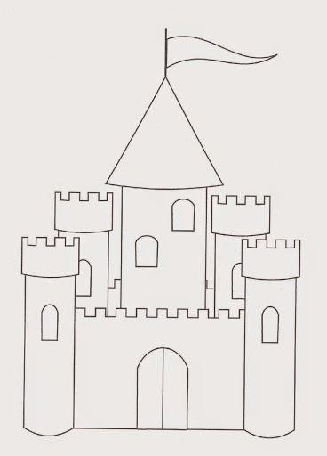Castle Coloring Pages   Free Coloring Pages