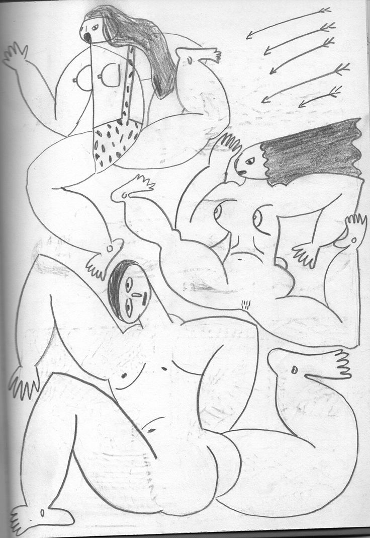 Recent Sketchbook Drawings on Behance