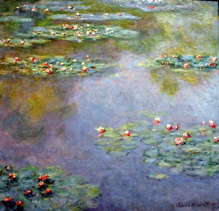 Tutte le dimensioni |Claude Monet - Water Lilies, 1907 at Boston Museum of Fine Arts | Flickr – Condivisione di foto!