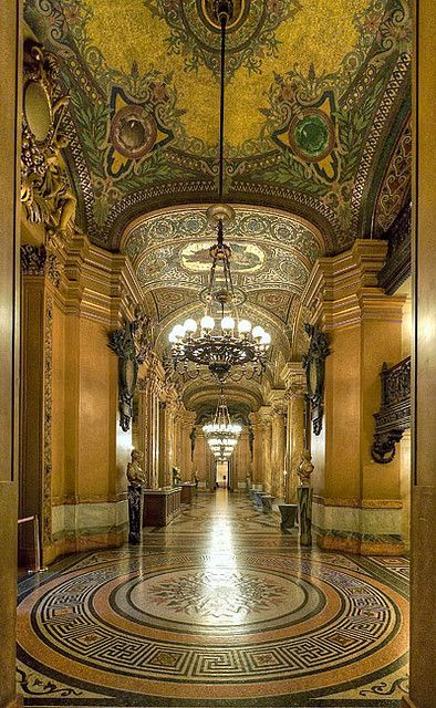awalkinthexixcentury: Opéra Garnier - Paris