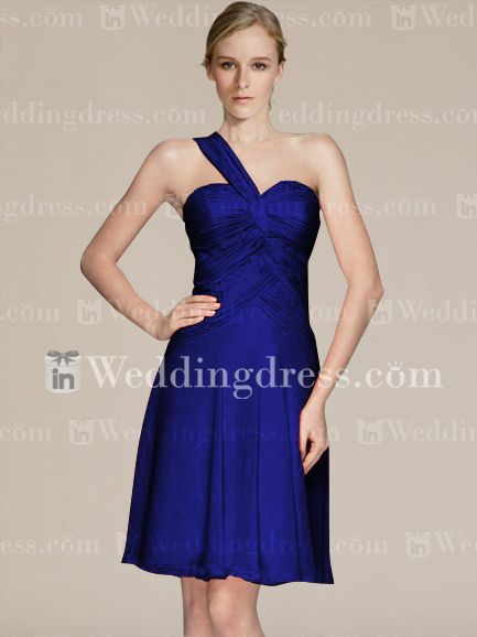 Affordable Cocktail Length Bridesmaid Dress Sale BR188S19860