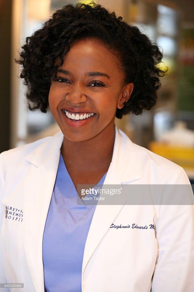 S ANATOMY - ABC's 'Grey's Anatomy' stars Jerrika Hinton as Stephanie Edwards.