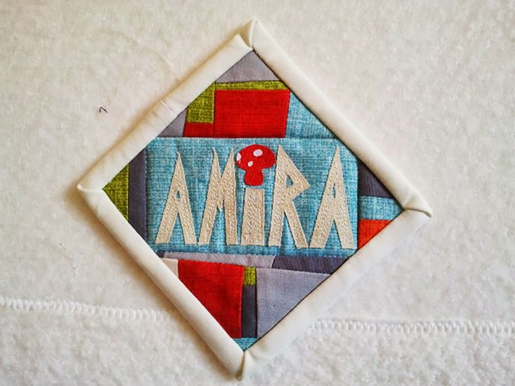 Quilt Guild Swap Ideas : Hug-a-Bit Quilts.: Canberra Modern Quilt Guild meeting, name tag swap My Creations Pinterest ...