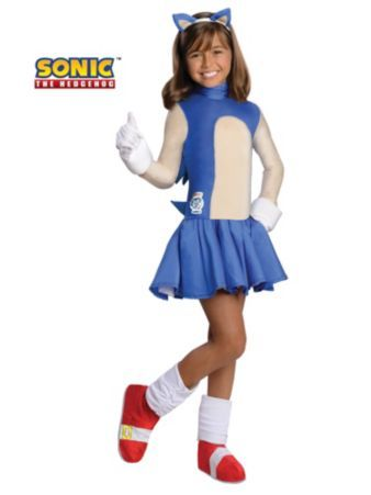 Sonic the Hedgehog Costume   Wholesale Sonic the Hedgehog Costumes for Girls