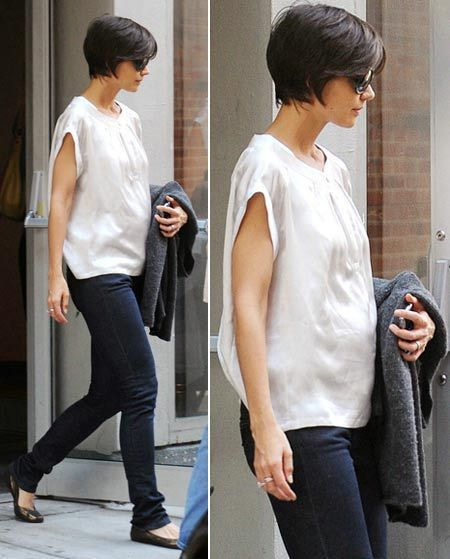 Cool Short Hairstyle for Black Hair Pretty Much Like I had my Done but blocked In The Back