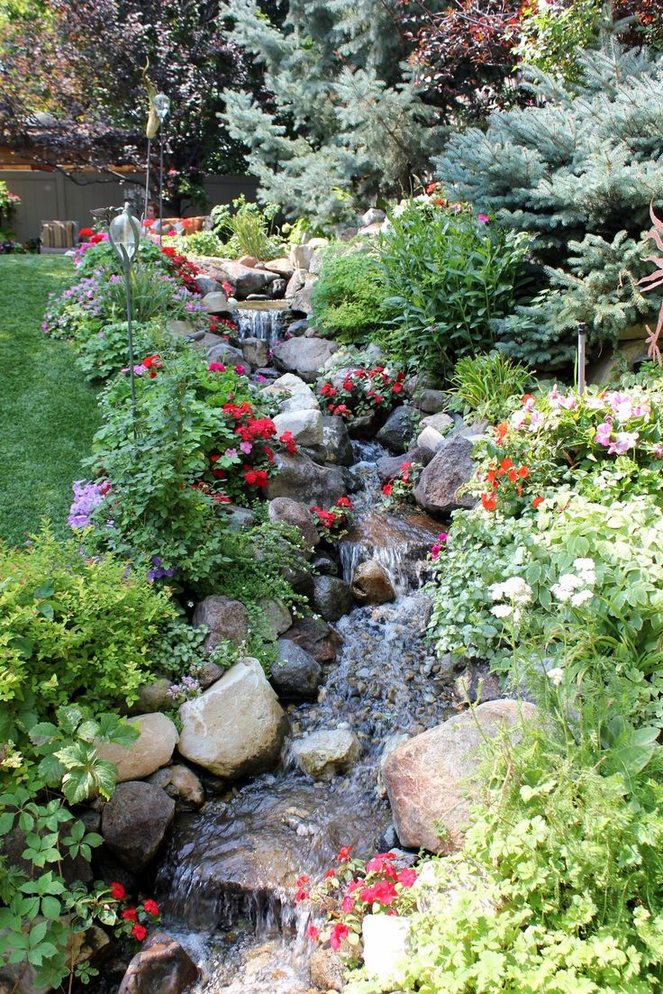 Backyard garden water - Find This Pin And More On Dream Garden