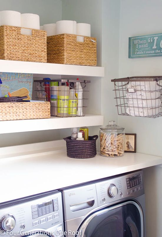 IHeart Organizing: Reader Space: A Rockin' Laundry Room Renovation
