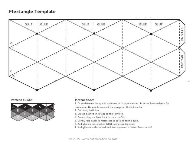Best 25+ Flextangle template ideas on Pinterest Paper fidget - hexaflexagon template