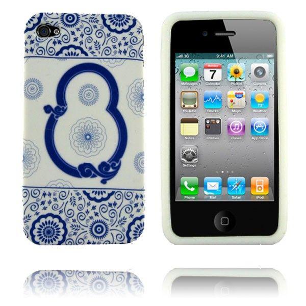Porcelain (Design 7) iPhone 4 Deksel