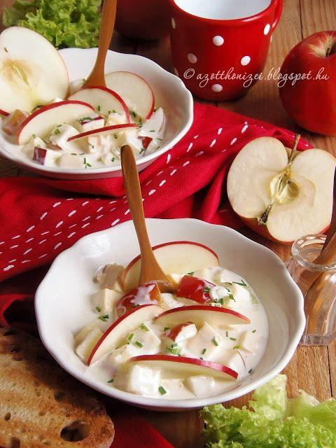 Az otthon ízei: Almás sajtsaláta