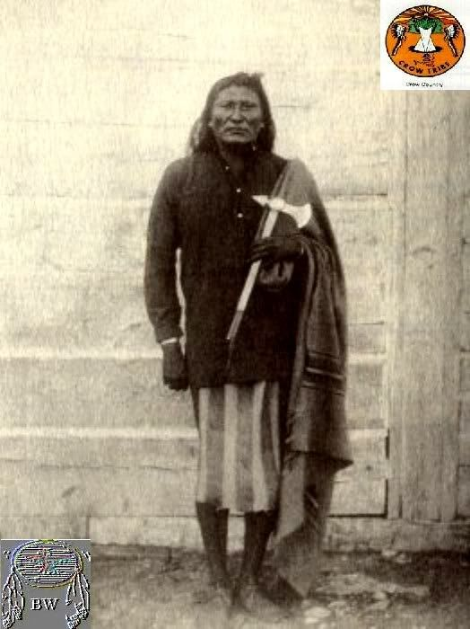 Chief Blackfoot, Crow 1795-1877
