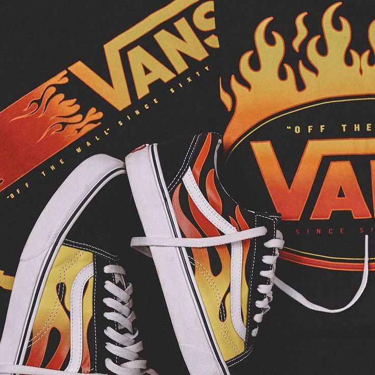 #Vans Flame Pack