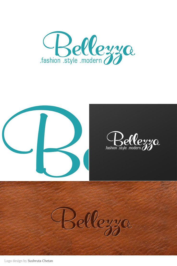 Logo design for Bellezza, fashion store providing Italian