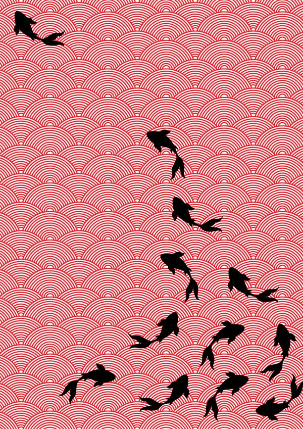 Motifs we heart it fish japanese and koi for Japanese koi design