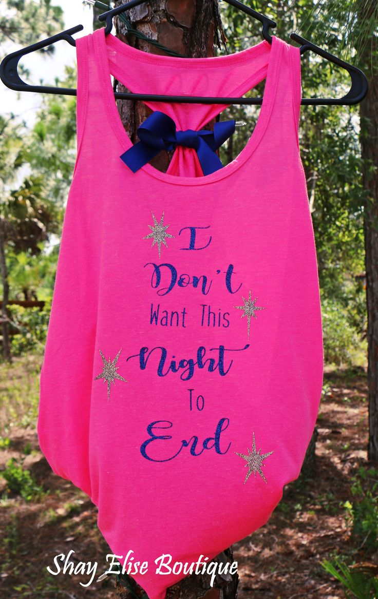 Hot Pink and Sparkle Navy Blue highlight this awesome Luke Bryan Concert Tank. The silver sparkle stars make it pop