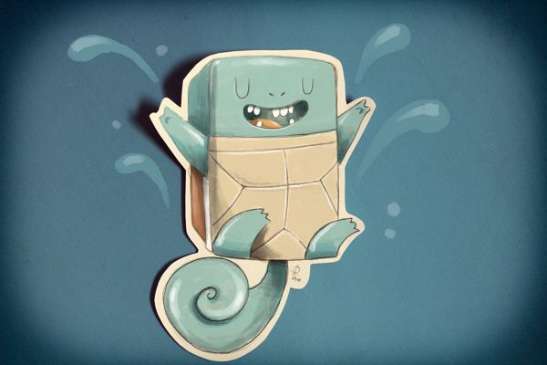 Square Characters... by Douglas Ferreira, via Behance