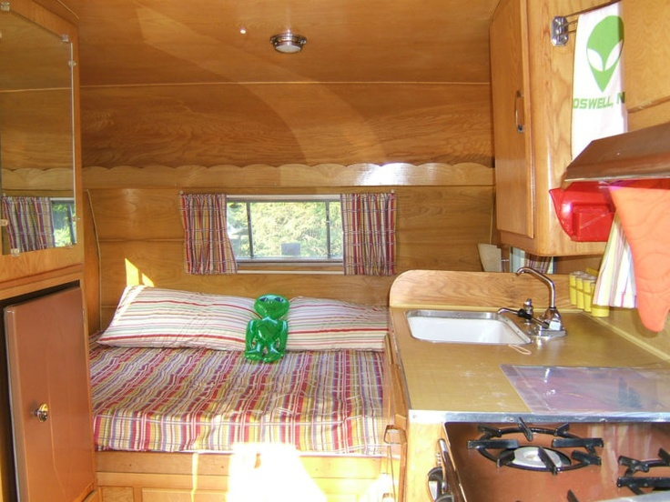 Vintage 1958 Shasta Airflyte Canned Ham Restored Camper In RVs Campers