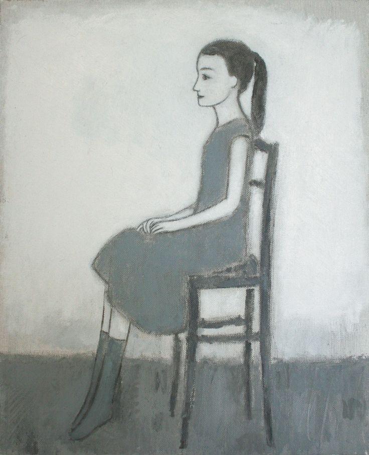 Marco Demis, 2010, Senza titolo, Olio su tela, Cm 30 x 24 x 4.