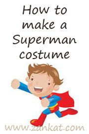 How to Make a Superman Halloween Costume for #halloween or Character Day #storybook #character #superman for Boys or Sexy Lady