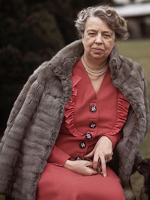 """Eleanor Roosevelt (1884-1962) As wife of the 32nd President, Franklin D. Roosevelt, Eleanor Roosevelt challenged and transformed the historically ceremonial, behind-the-scenes First Lady role. She increased her public presence by participating in radio broadcasts, authoring a daily syndicated column, """"My Day,"""" and holding weekly, women-only press conferences (she was the first presidential wife to do so) to discuss women's issues, her daily activities and breaking news. Along the way, she…"""