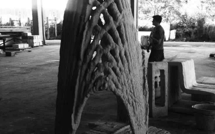 """""""Vault"""" -- entwickelt von Norbert Palz und Ricardo Gomes (Digitales und Experimentelles Entwerfen, Universität der Künste Berlin)"""