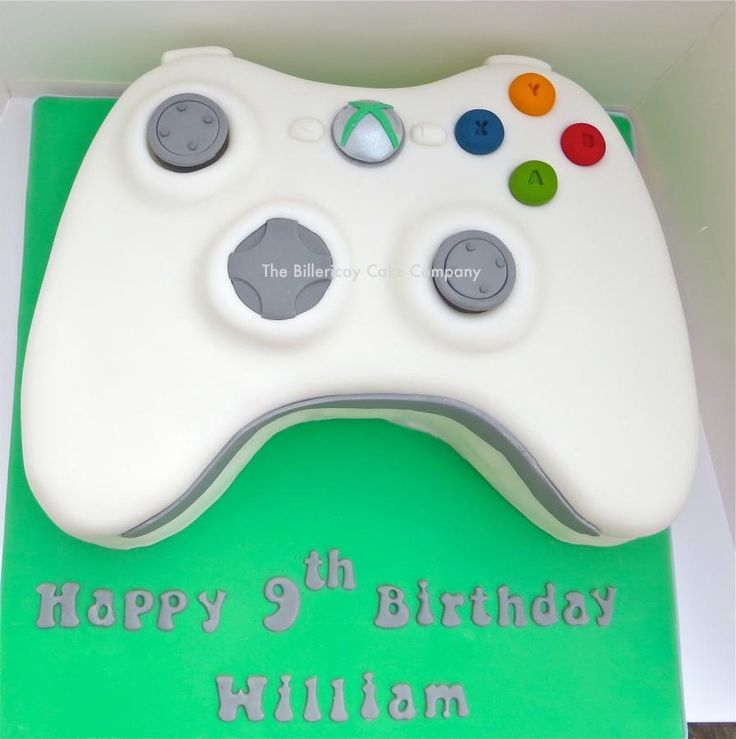 Our first video game themed cake.