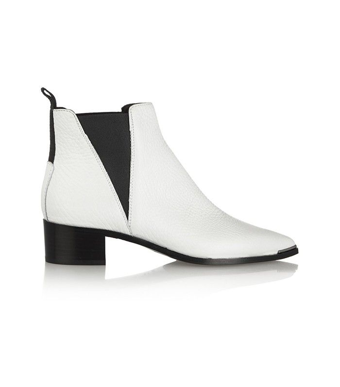 The Ankle Boot Style the Fashion Elite Is Wearing Now via @WhoWhatWear