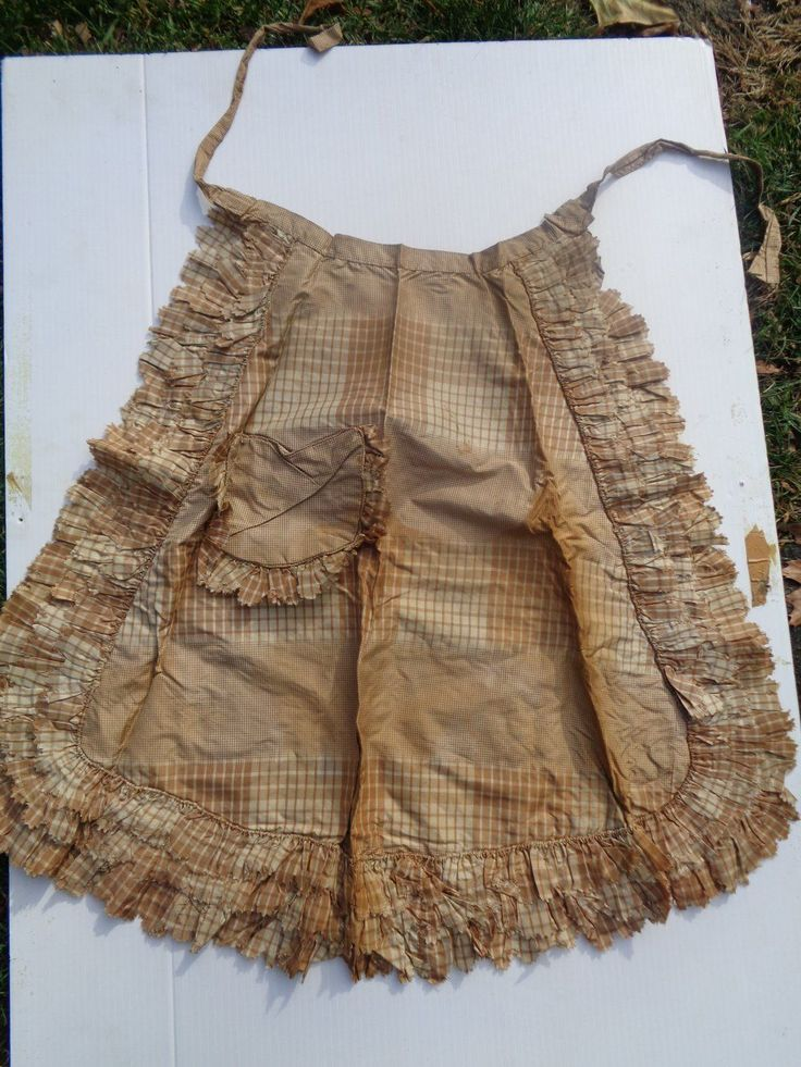 17 Best Images About 18th 19th Century Aprons On