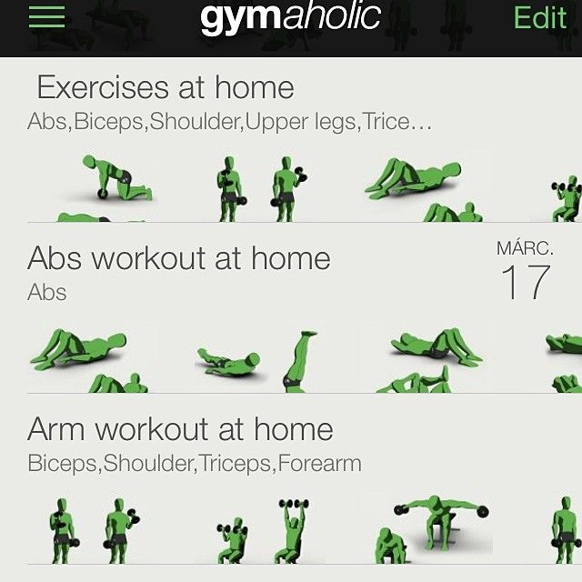 We have #exercises and #workouts for #training at home as well. Use your #bodyweight #dumbbell or a bottle of #mineralwater as #weight . Every #workout is better than no workout. #noexcuses #bodybuilding #fit #fun #new #fitness #fitnessapp #fitnessexercises #weightloss #fitfam #health #healthy #gymaholic #gym