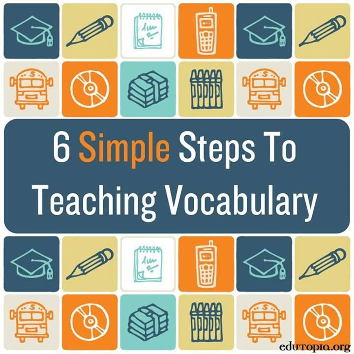 Techniques for teaching vocabulary
