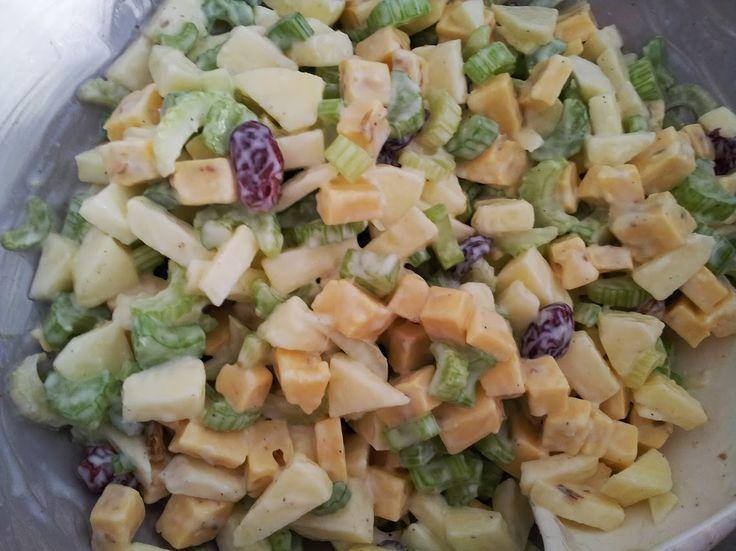 Recept bleekselderij salade is heerlijk en gezond