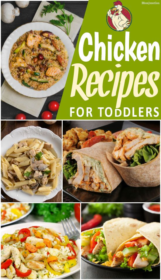 10 Yummilicious Chicken Recipes For Toddlers Kids Baby Food