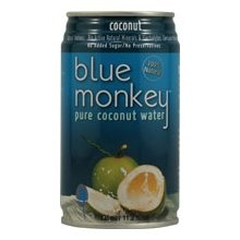 Blue Monkey Coconut Water.  Such a refreshing drink with SO many health benefits!