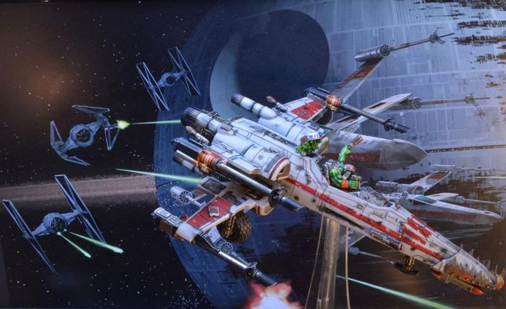 Looted, Ork X-wing, Orks, Star Wars, Wing, X-Wing, Xwing By Midget Gems