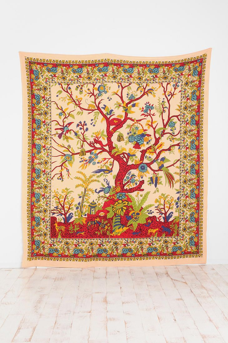 UrbanOutfitters.com > Tree of Life Leopard Tree Tapestry