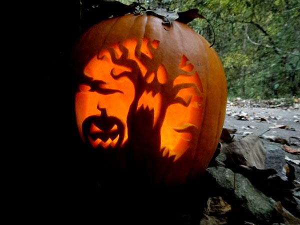 pumpkin carving ideas ideas 30 best cool creative scary - Cool Halloween Pumpkin Designs