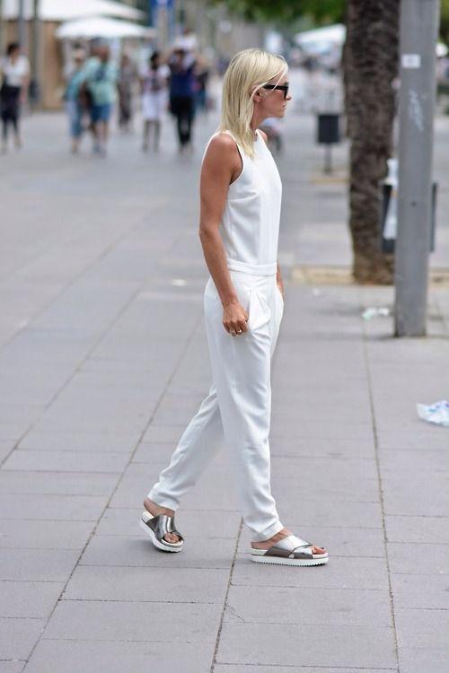 Zara JUMPSUIT - STREET STYLE BARCELONA