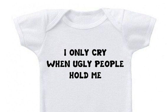 Grappige baby onesie, grappige babykleding, baby jongen grappige onesie, baby meisje grappige onesie, grappige baby shirts, baby grappig cadeau, grappige onesie