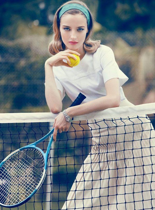 Девушка теннис фотосет