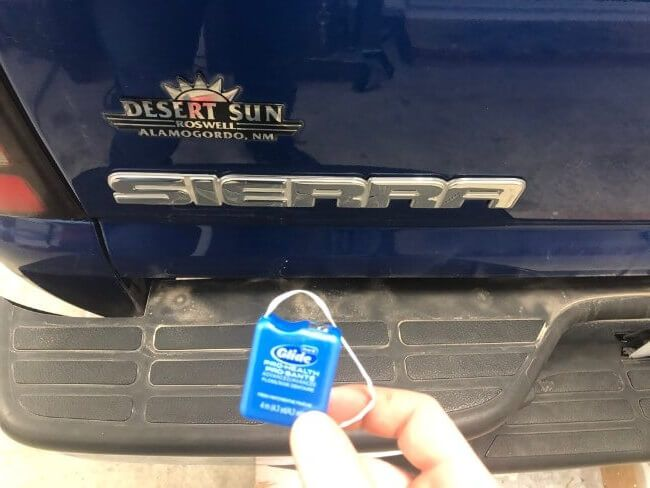 How To Remove Dealership Stickers Decals Emblems And Badges From A Car Sticker Removal Dealership New Trucks