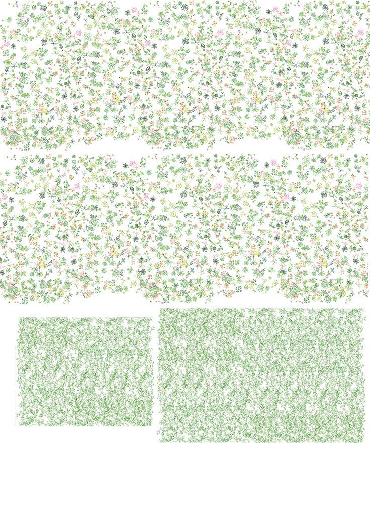 Junya Ishigami's pattern
