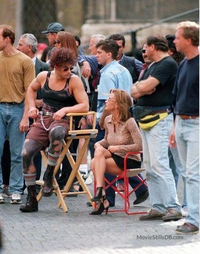 Double Team - Behind the scenes photo of Jean-Claude Van Damme