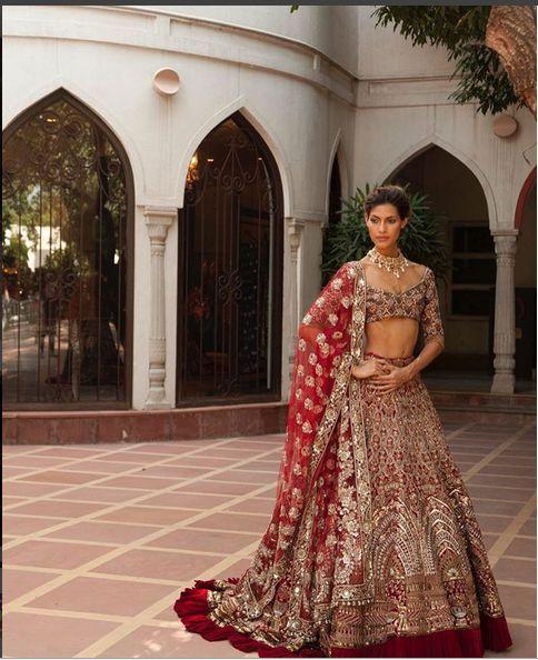 Bridal Lehenga By Manish Malhotra