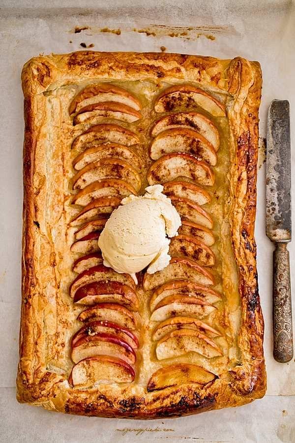 Moje Wypieki | Tarta francuska z jabłkami