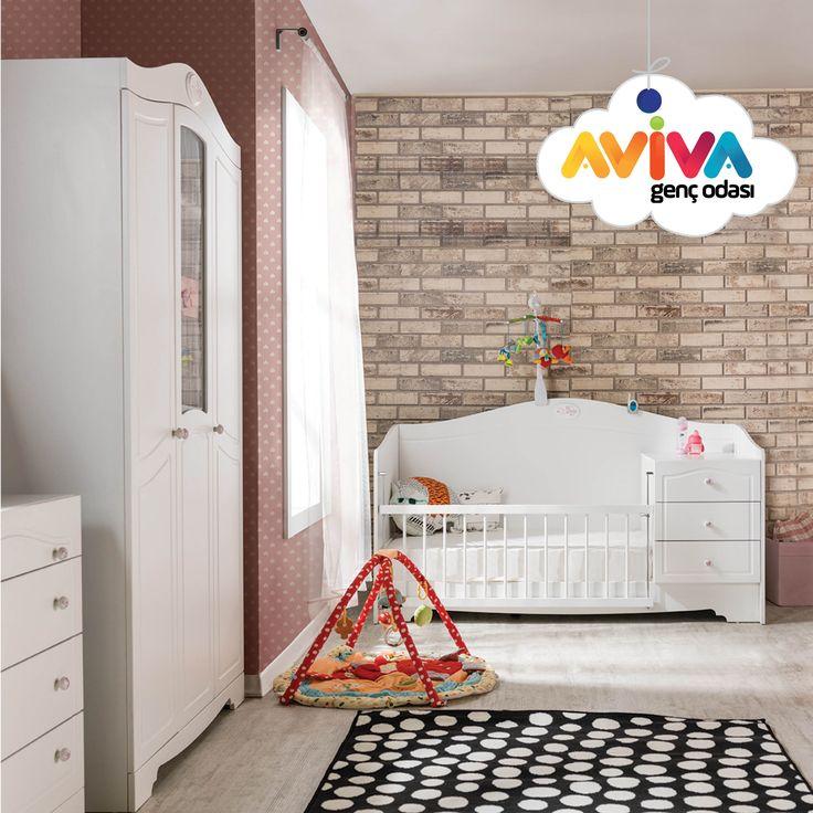 Baby Girl  #avivamobilya #avivagencodasi #bebekodasi #cocukodasi #gencodasi #karyola #yatak #gardrop #beşik #cekmece #calismamasasi #masa #kitaplık #mobilya #furniture #dekorasyon #decoration #bebek #cocuk #genc #youngroom #kidsroom #babyroom #beyazoda #whiteroom #baby #kid #young