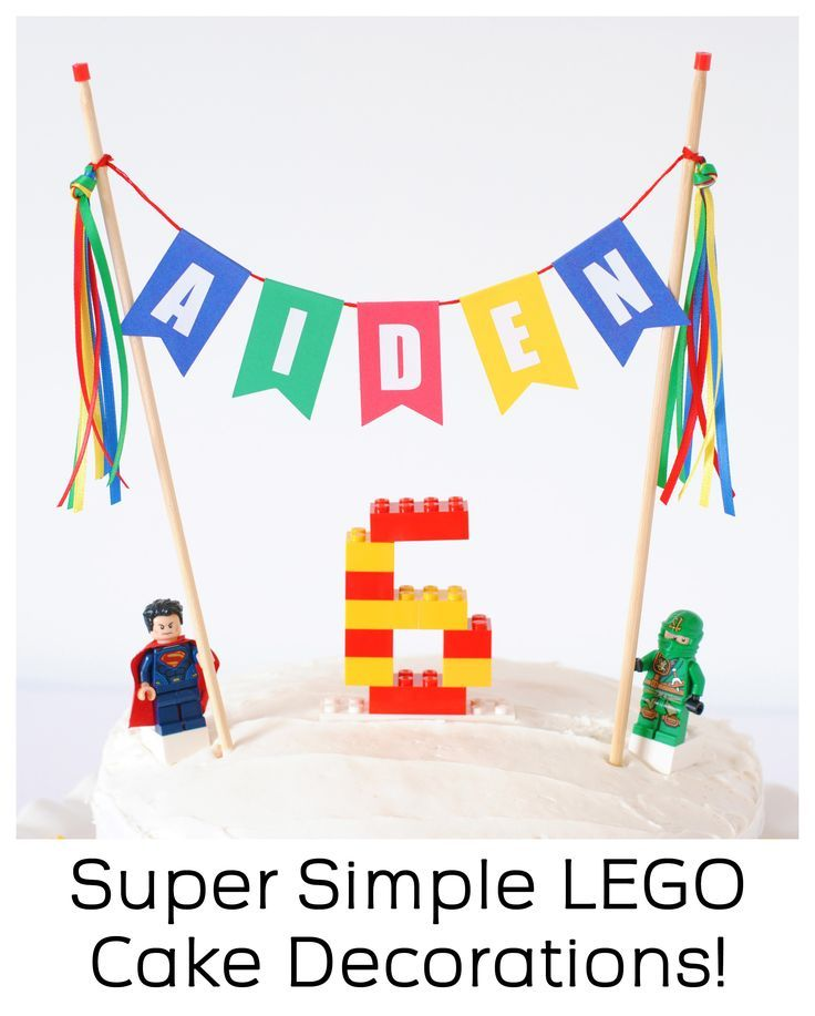 Excellent Cake Gallery Super Simple Lego Birthday Cake Birthday Cake Funny Birthday Cards Online Overcheapnameinfo