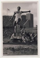 ERWIN HUBER SAUT LONGUEUR Long jump GERMANY JEUX OLYMPIQUES 1936 OLYMPIC GAMES