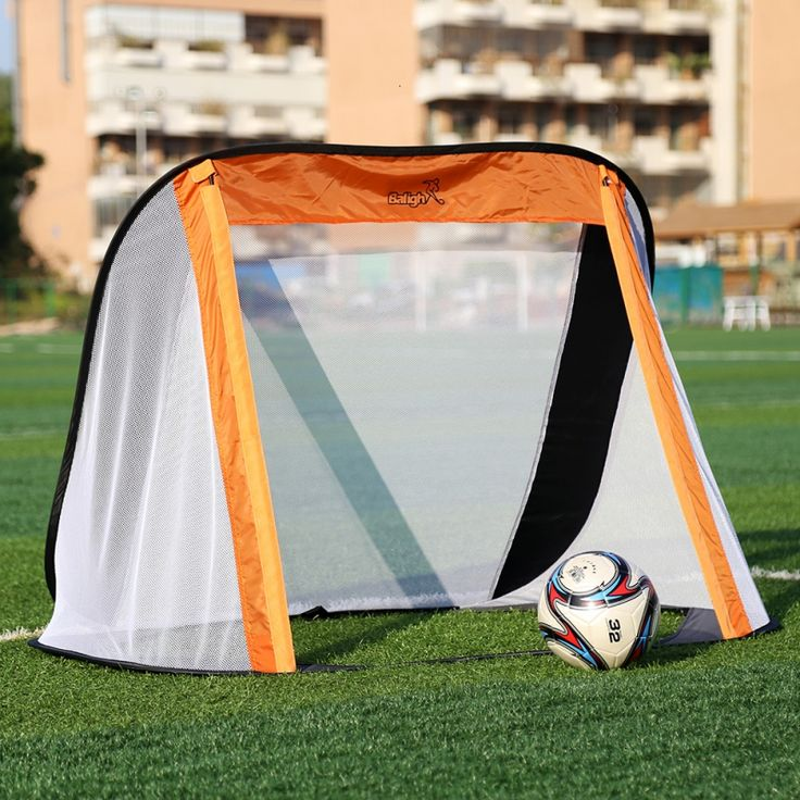 130*80*95CM Oxford Cloth Portable Soccer Goal Post Net Utility Football Soccer Goal Post Outdoor Indoor Sports Training #Affiliate
