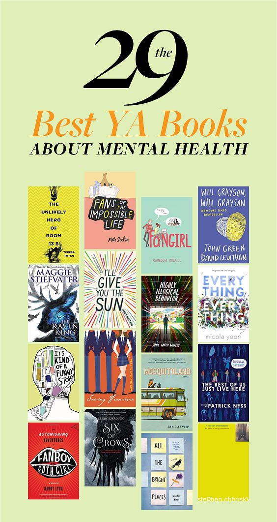 29 YA Books About Mental Health That Actually Nail It All going on my reading list.