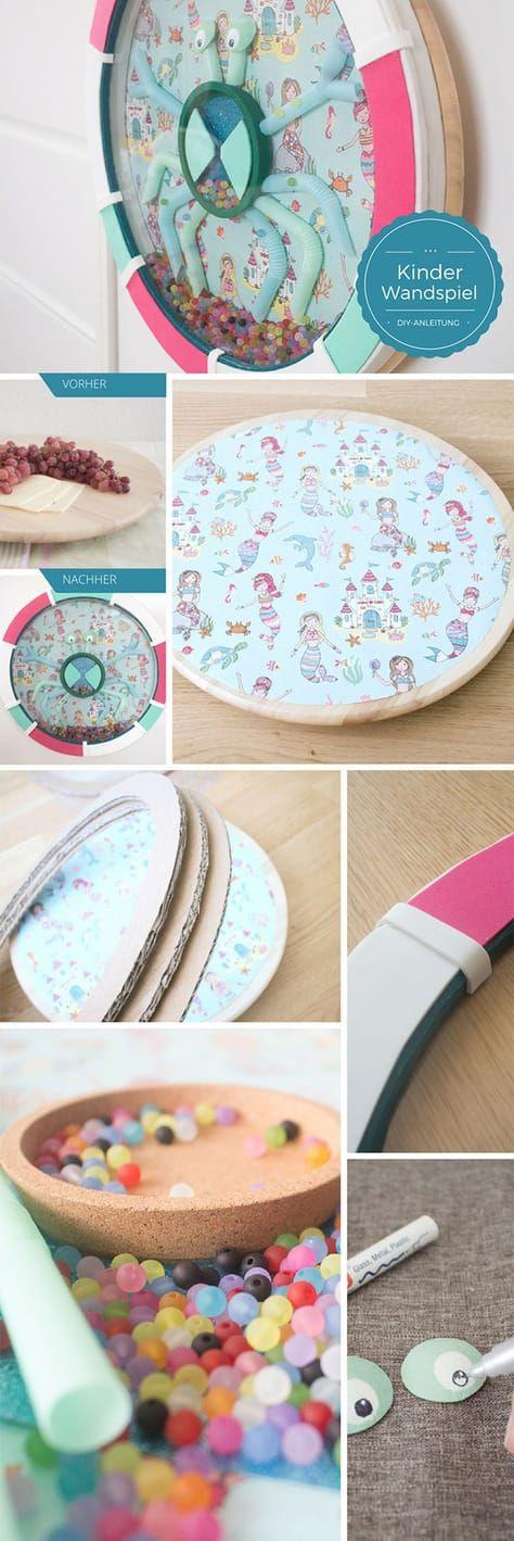 IKEA-Hack: mit SNUDDA ein Wandspielzeug für Kinder basteln
